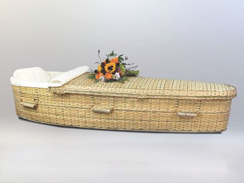 Bamboo Casket | Wright & Ford Family Funeral Home and